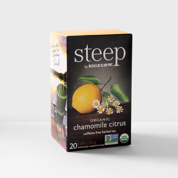 Bigelow Steep Chamomile Citrus Herbal Tea