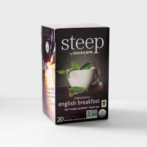 Bigelow Steep English Breakfast Fair Trade Certified Black Tea